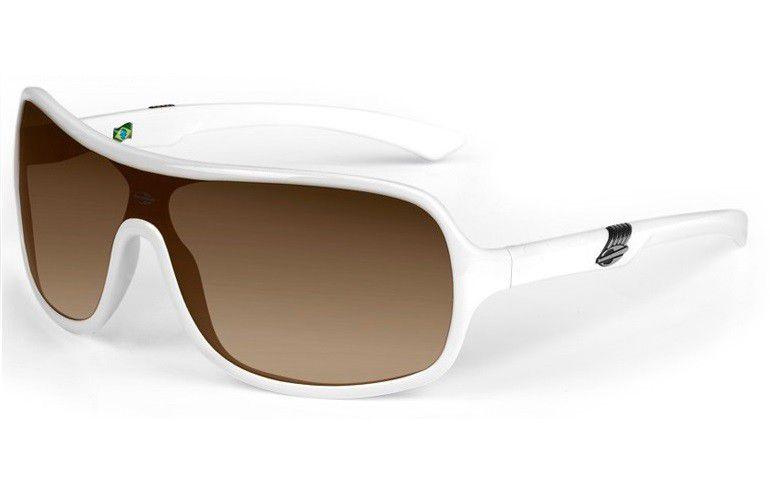 b0a7e52d7 Oculos Sol Mormaii Speranto 11606534 Branco Lente Marrom