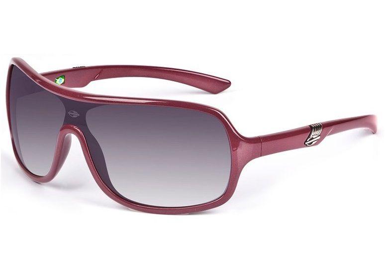 Oculos Sol Mormaii Speranto 11607333 Vinho Lente Cinza Degradê