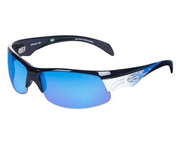 Oculos Sol Mormaii Street Air 35040412 Azul Lente Azul Espelhada