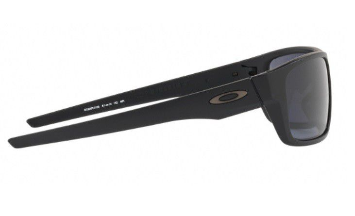 ff9bdad8620 OCULOS SOL OAKLEY DROP POINT 9367 0160 MATTE BLACK LENTE GREY - Loja ...