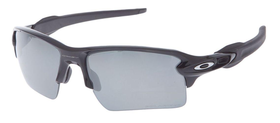 e71028174768a Oculos Sol Oakley Flak 2.0 XL 9188 08 PRETO BRILHO LENTE PRETA ESPELHADA  POLARIZADA