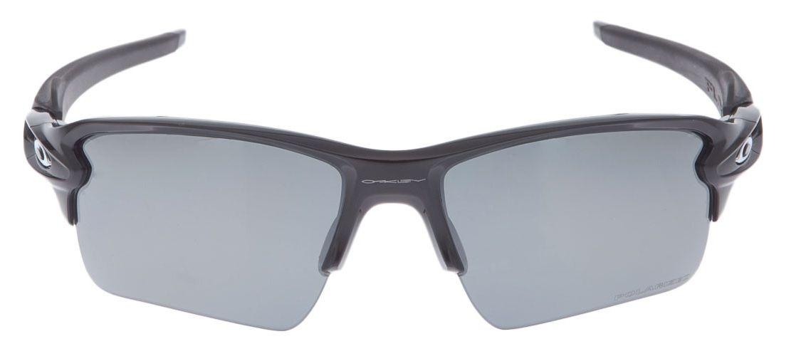 9606b789600cf ... Oculos Sol Oakley Flak 2.0 XL 9188 08 PRETO BRILHO LENTE PRETA ESPELHADA  POLARIZADA ...