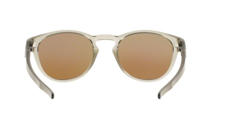 5f1f73f87 Oculos Sol Oakley Latch 9265 08 Cinza Translucido Lente Azul Espelhada  Polarizada