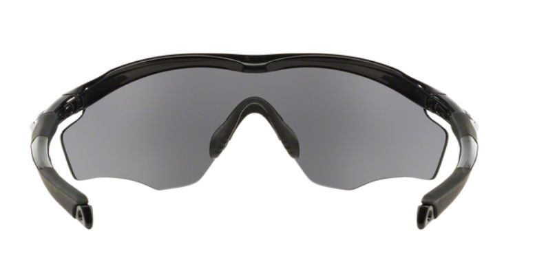 ... Oculos Sol Oakley M2 Frame XL 9343 01 Preto Brilhoso Lente Preta  Espelhada ee308da7acf