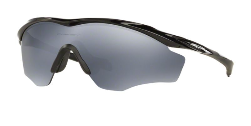 Oculos Sol Oakley M2 Frame XL 9343 09 Preto Brilhoso Lente Preto Espelhada  Polarizada f69e45a142