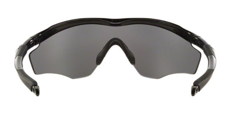 ... Oculos Sol Oakley M2 Frame XL 9343 09 Preto Brilhoso Lente Preto  Espelhada Polarizada 0a24a3dc2b