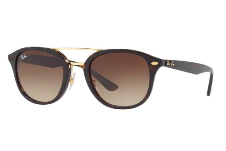OCULOS SOL RAY BAN RB2183 122513 53 HAVANA LENTE MARROM DEGRADÊ ... 01d3c1876f