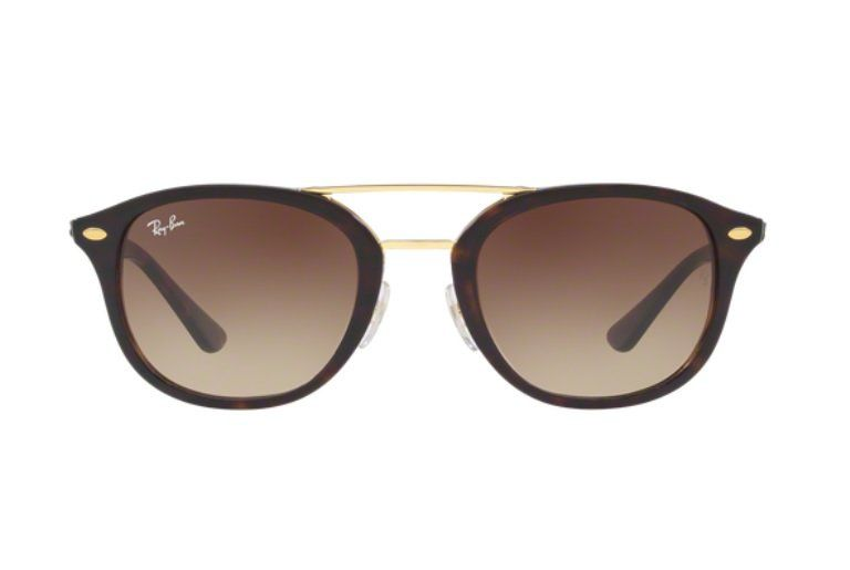 ... OCULOS SOL RAY BAN RB2183 122513 53 HAVANA LENTE MARROM DEGRADÊ ... 813d070752