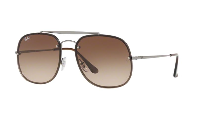 9fd16d1ee3998 OCULOS SOL RAY BAN RB3583N 004 13 58MM GRAFITE LENTE MARROM DEGRADÊ ...