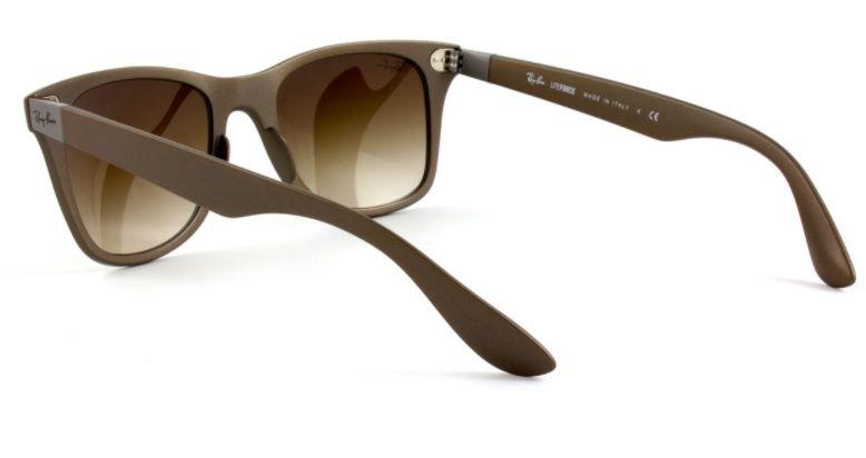 a6aedcf2c679d ... store oculos sol ray ban wayfarer liteforce rb4195 603313 lente marrom  fosco lente marrom degradÊ 968e3