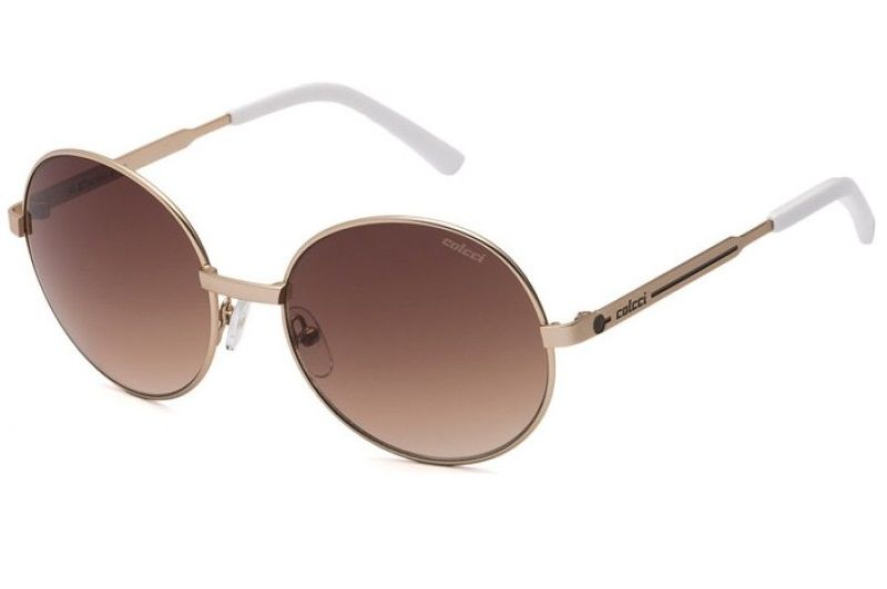 Oculos Solar Colcci 5043 504301734 Dourado Marrom