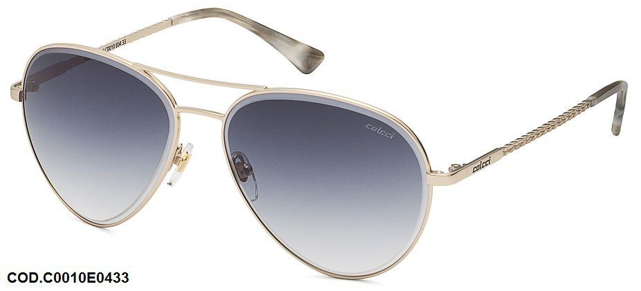 Oculos Solar Colcci aviador Cod. C0010E0433 Dourado