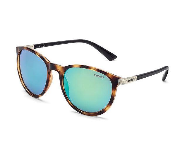 Oculos Solar Colcci Donna C0030f6985 Marrom Lente Verde Espelhada