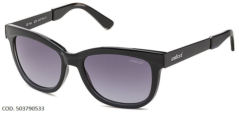 Oculos Solar Colcci Flair Cod. 503790533 Preto Brilho