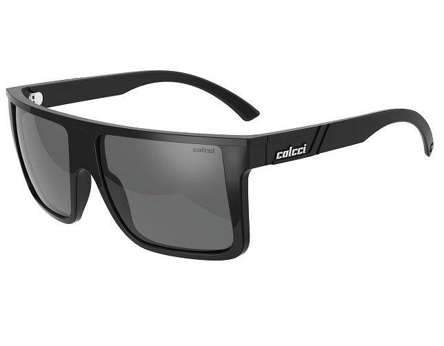 Oculos Solar Colcci Garnet 501221003 Preto Brilho Polarizado
