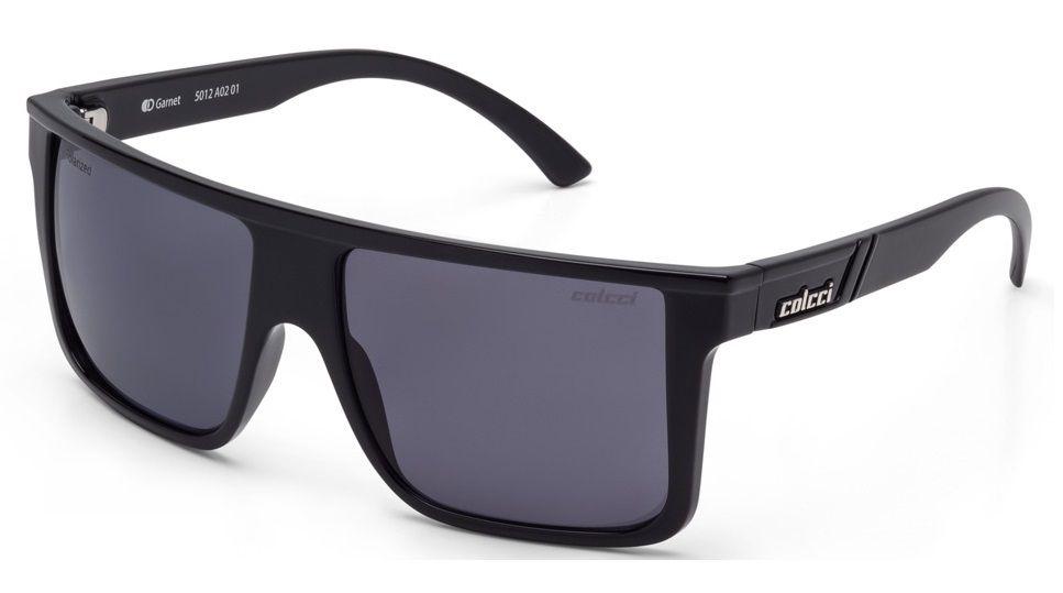 Oculos Solar Colcci Garnet 5012a0201 Preto Brilho Lente Cinza