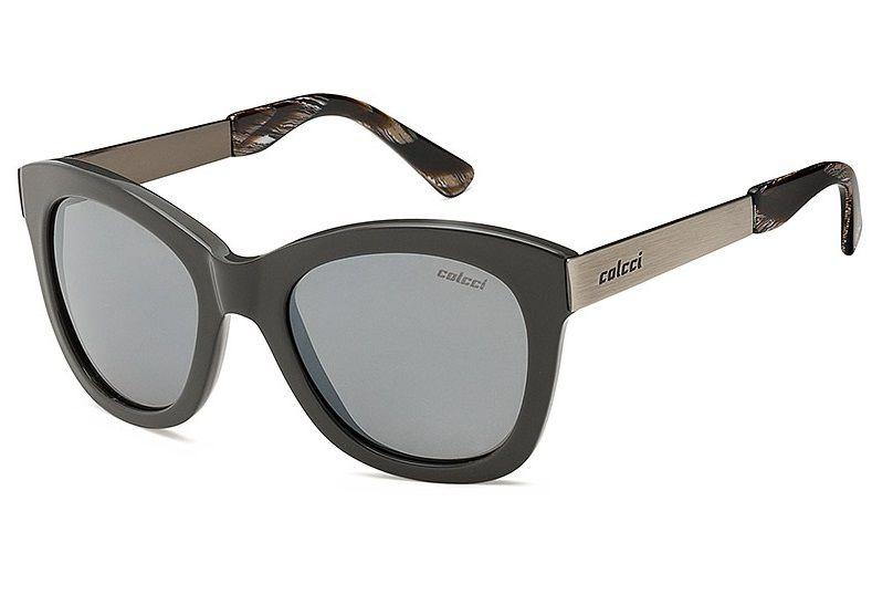 Oculos Solar Colcci Jolie Cod. 503895309 Cinza Fosco / Lente Cinza Espelhada