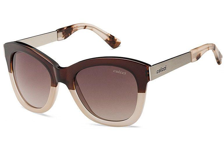 Oculos Solar Colcci Jolie 503895434 Marrom Nude Lente Marrom Degrade