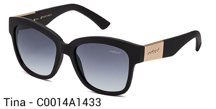 Oculos Solar Colcci Tina Cod. C0014A1433 Preto Fosco