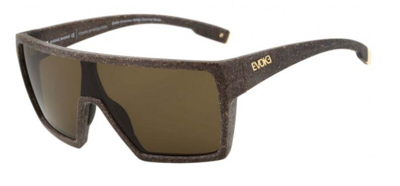 Oculos Solar Evoke Bionic Alfa Coconut Brown Total