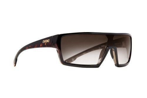 Oculos Solar Evoke Bionic Beta A22 Black Turtle Brown Gradient