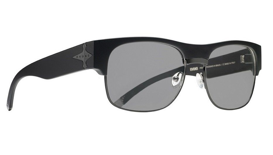 Oculos Solar Evoke Capo 2 Black Matte Black Gray Total Polarizado ... 64c3b4d112