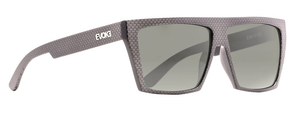 Oculos Solar Evoke EVK 15 SGN01 Black With Signs G15 Total