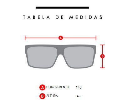 Oculos Solar Evoke Haze Black Temple White Matte G15 Total