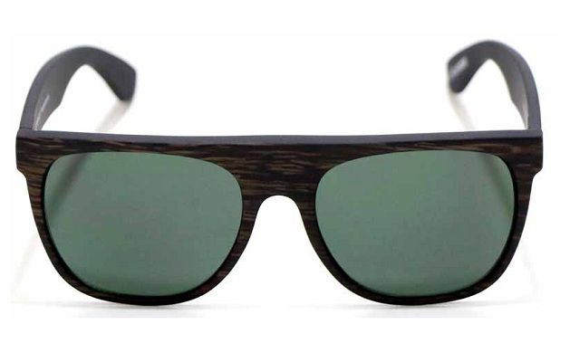 OCULOS SOLAR EVOKE HAZE WOOD BLACK MATTE SILVER G15 GREEN TOTAL ... 87f1ff641c