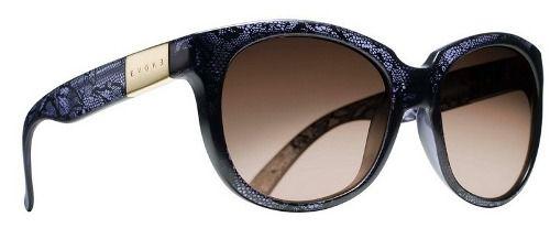 Oculos Solar Evoke Mystique Dark Lace Gold Brown Gradient