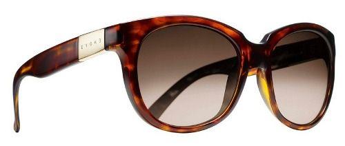 Oculos Solar Evoke Mystique Turtle Gold Brown Gradient