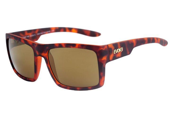 Oculos Solar Evoke The Code 2 Turtle Matte Gold Mirror