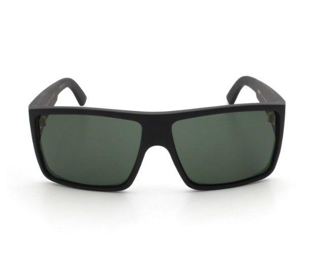 Oculos Solar Evoke The Code A01G Black Matte Gold G15 Green Total