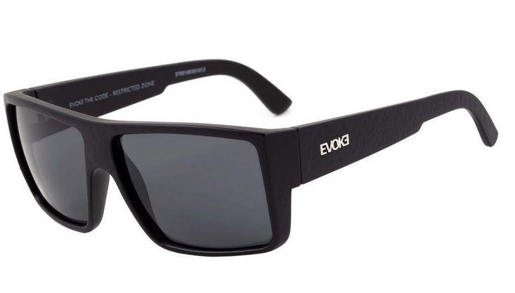 d2383cb0958c7 Oculos Solar Evoke The Code Black Crocodilus Gray Total - Loja ...