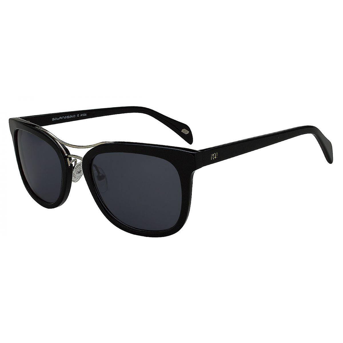 Oculos Solar It Sabrina Sato Charlote A126 C1 52 7 Preto Brilhoso ... 95b4d3ca90