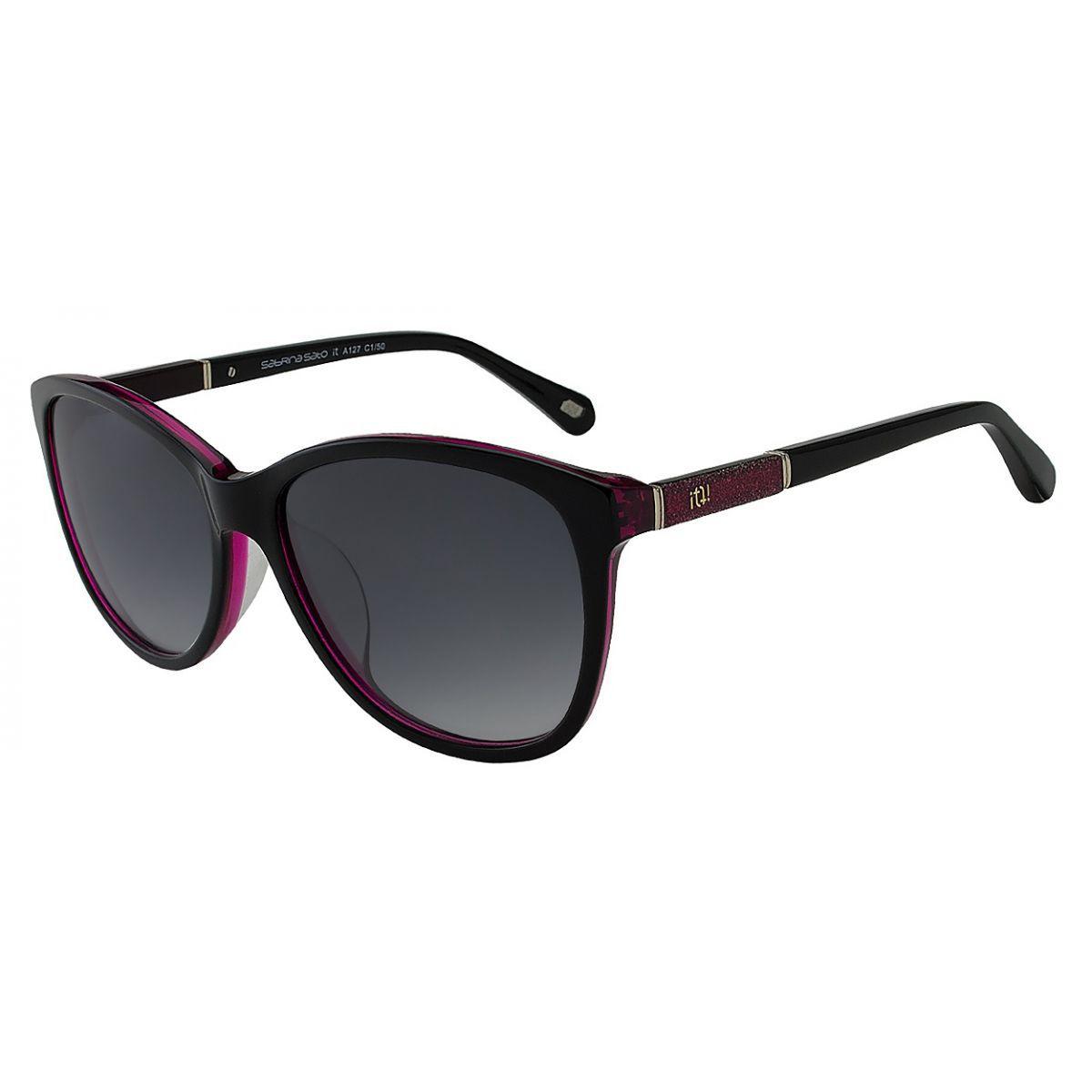 Oculos Solar It Sabrina Sato Lumiere A127 C1/50 Preto Rosa