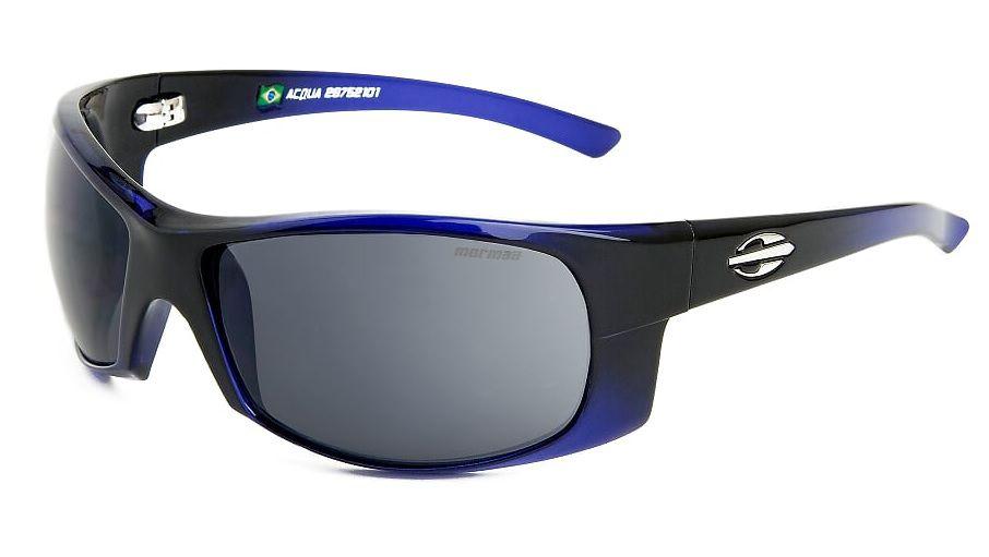 Oculos Solar Mormaii Acqua 28752101 Azul Translucido Lente Cinza