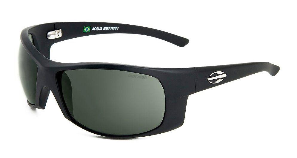 Oculos Solar Mormaii Acqua 28711771 Preto Fosco Lente Verde G15