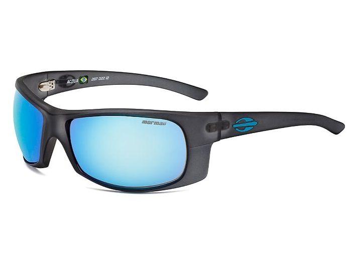 Oculos Solar Mormaii Acqua Cod. 287D2212 Preto Fosco Azul - Loja ... 508388d27e