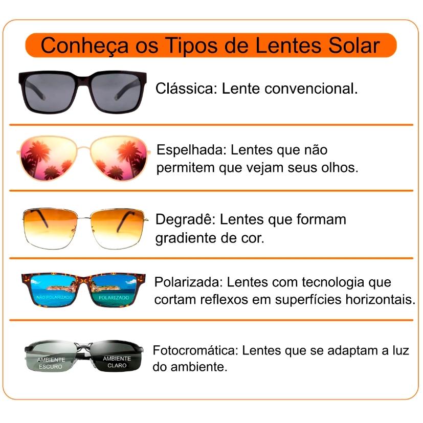 Óculos Solar Mormaii Amazônia 2 44283601 Preto e Laranja