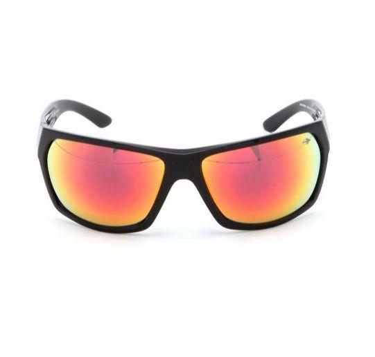 Oculos Solar Mormaii Amazonia 2 442A0211 Preto Lente Vermelha Espelhada