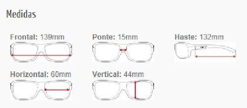 Óculos Solar Mormaii Aruba Xperio Polarizado 36221003 Preto