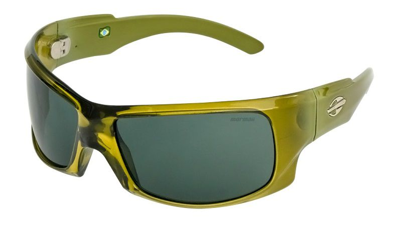 Oculos Solar Mormaii Asturias Verde Oliva Translucido