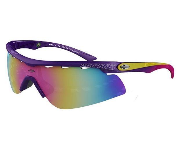 Óculos Solar Mormaii Athlon 2 - Com 2 Lentes - 44028594 Roxo
