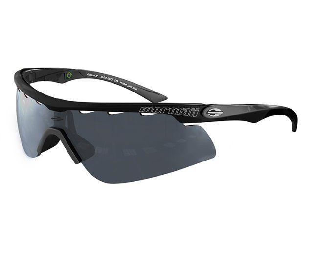 Óculos Solar Mormaii Athlon 2 - Com 2 Lentes - 44028909 Preto Lente Cinza