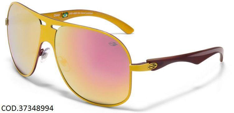 f909ffeca72a5 Oculos Solar Mormaii Deep Cod. 37348994 Amarelo Rosa - Loja Solare ...