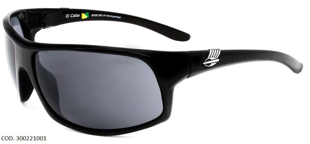 Oculos Solar Mormaii El Cabo Cod. 300221001 Preto Brilho