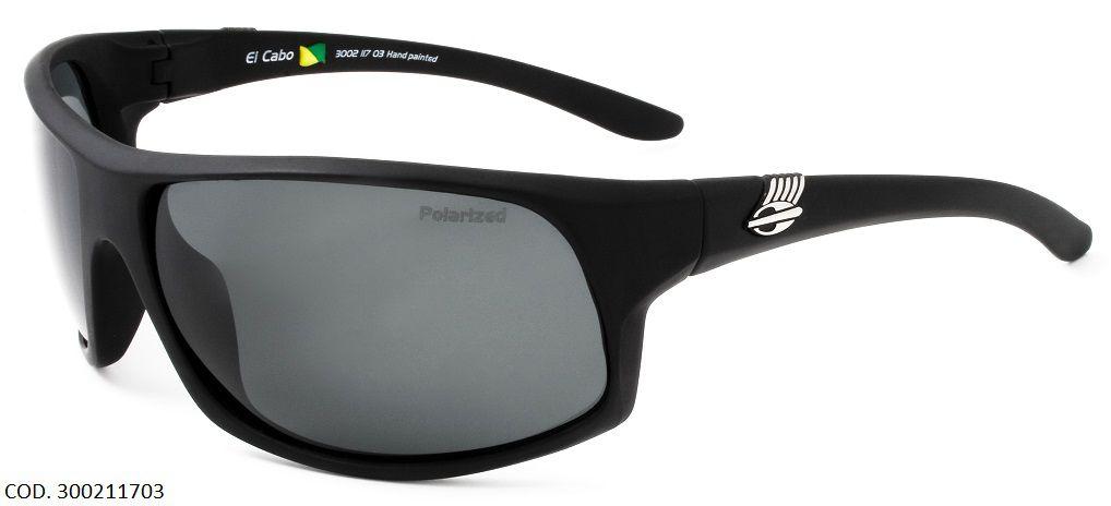 Oculos Solar Mormaii El Cabo Polarizado Cod. 300211703 Preto Fosco