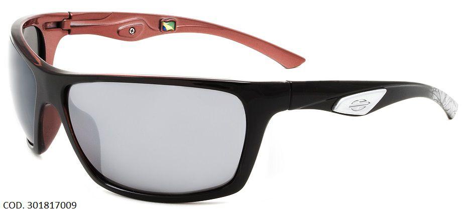 Oculos Solar Mormaii Esquel Cod. 301817009 Preto Vermelho
