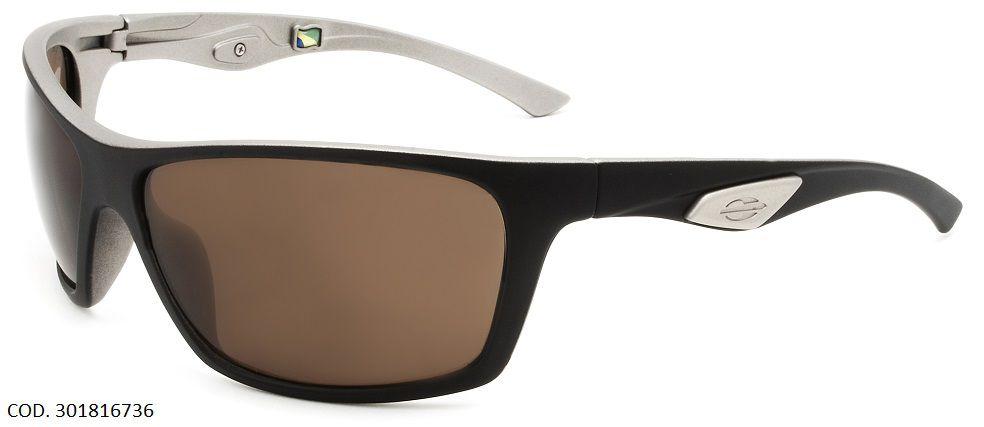 Oculos Solar Mormaii Esquel Polarizado Cod. 301816736 Preto Fosco